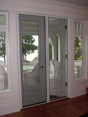 Retractable Screen double doors