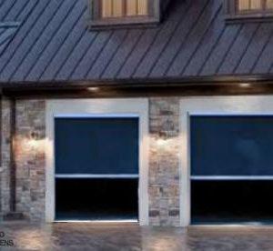 Retracting Screen Door Garage DIY Kit – up to 108 W x 96 H (Inches)