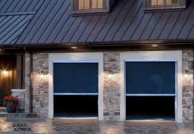 Retracting Screen Door Garage DIY Kit
