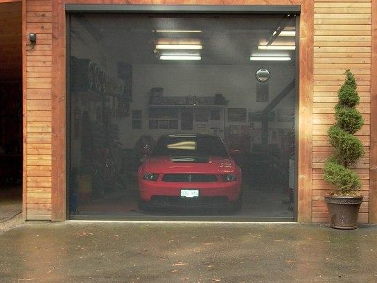 media carousel garage doors