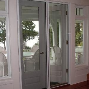 Retractable French door Screens M-36