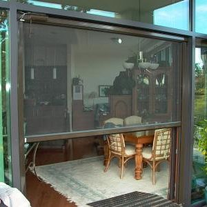 Motorized Retractable Screens Patio-Porch M41
