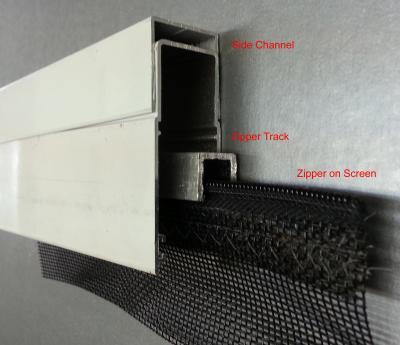 Side Track Retractable screen