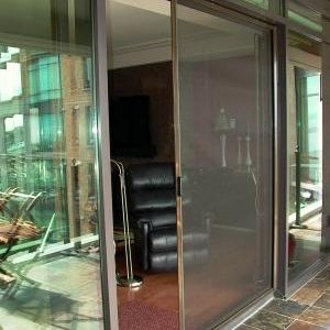 UltraGlide French Door Retractable Screen for Patio-Deck and Openings