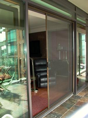 UltraGlide French Door Retractable Screen