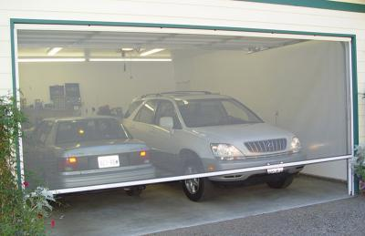Single Garage Screen Door Kit