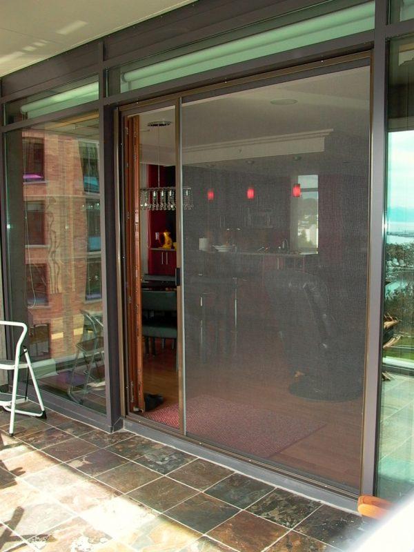 French door screen ultra glide