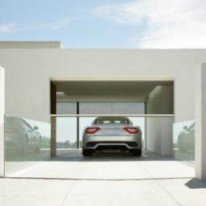 Motorized Retractable Garage Screens M46