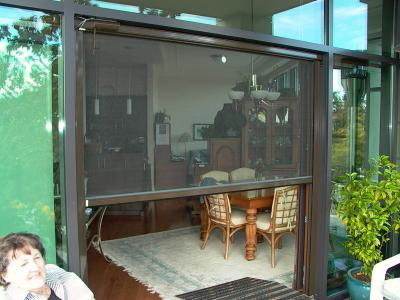 Motorized Retractable Screens Patio-Porch