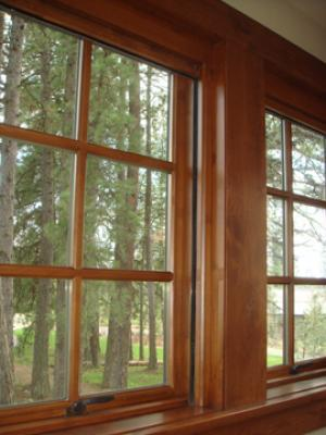 Wood Window Retractable Screens